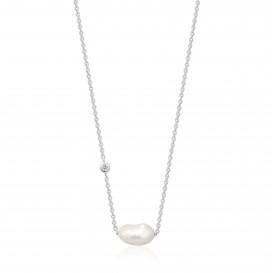 Ania Haie N019-02H collier Zilver Zilverkleurig