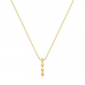 Ania Haie N025-01G collier Zilver Goudkleurig