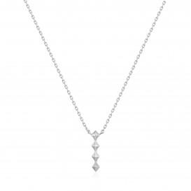Ania Haie N025-01H collier Zilver Zilverkleurig
