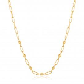 Ania Haie N025-03G collier Zilver Goudkleurig