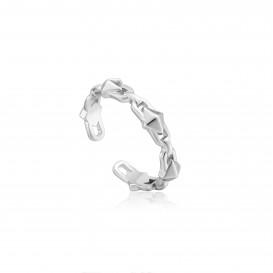 Ania Haie R025-02H ring Zilver Zilverkleurig Adjustable One Size