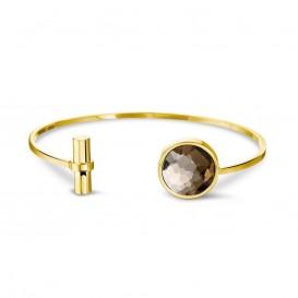Mi Moneda BRA-DOL-42-19 Armband Cambio Dolce Champagne goudkleurig 19 cm