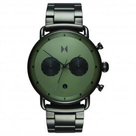 MVMT D-BT01-OLGU RVS Gunmetal Blacktop Horloge 47mm