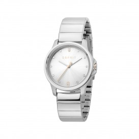 Esprit ES1L142M0035 Bow horloge Staal Zilverkleur Dames