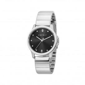 Esprit ES1L142M0045 Bow horloge Staal Zilverkleur Dames