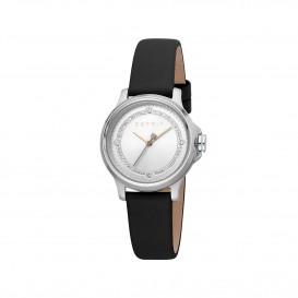 Esprit ES1L144L0025 Bent horloge Leer Bla Dames
