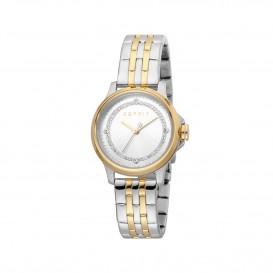 Esprit ES1L144M0105 Horloge Bent horloge staal bicolor 30 mm