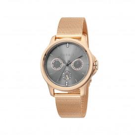 Esprit ES1L145M0095 Turn horloge Staal Rosékleur Dames