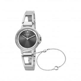 Esprit ES1L146M0015 Brace horloge Staal Zilverkleur Dames