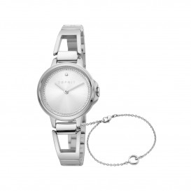 Esprit ES1L146M0045 Brace horloge Staal Zilverkleur Dames