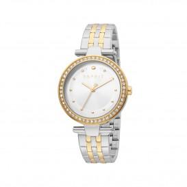 Esprit ES1L153M0095 Fine horloge Staal Goud- en Zilverkleur Dames