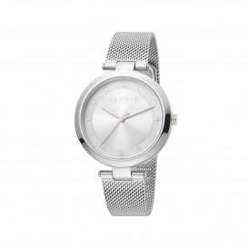 Esprit ES1L165M0045 Breezy horloge Staal Zilverkleur Dames