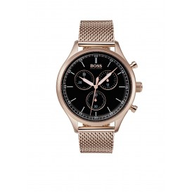 Hugo Boss HB1513548 Companion rosekleurig Herenhorloge chrono 42 mm