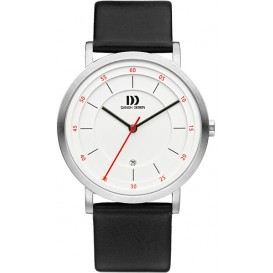Danish Design Watch Relief Iq12q1152 Stainless Steel By Ens MÅne Horloge