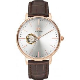 Danish Design Watch Iq17q1160 Automatic Open Heart Stainless Steel Sapphire Horloge