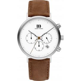 Danish Design Watch Iq29q1245 Stainless Steel Chronograph Horloge