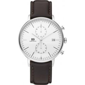 Danish Design Watch Classic Chronograph Iq41q975 Stainless Steel Horloge