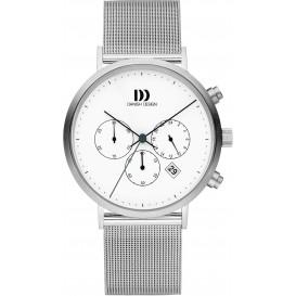 Danish Design Watch Iq62q1245 Stainless Steel Chronograph Horloge