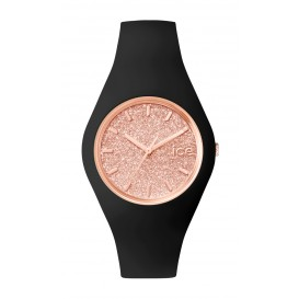 Ice-Watch Horloge Ice Glitter zwart-rosékleurig 41,5 mm IW001353