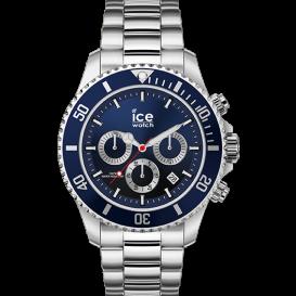 Ice-watch herenhorloge zilverkleurig 44mm IW017672 1