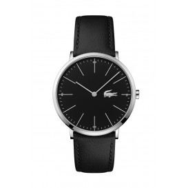 Lacoste LC2010873 Horloge MOON staal/leder zwart