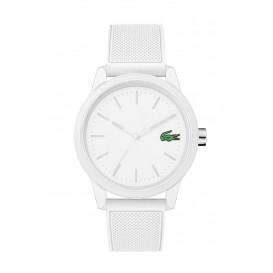 Lacoste LC2010984 L. 12.12. Horloge wit 42 mm