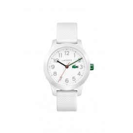 Lacoste LC2030003 12. 12 KIDS Horloge Wit 32 mm