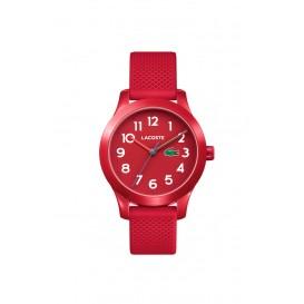 Lacoste LC2030004 12. 12 KIDS horloge Rood Unisex 32 mm