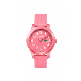 Lacoste LC2030006 12. 12 KIDS horloge Roze 32 mm