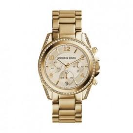 Michael Kors MK5166 horloge staal goudkleurig 40 mm