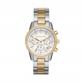 Michael Kors MK6474 Ritz Dameshorloge met zirkonia 37 mm