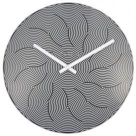 wandklok NeXtime dia. 39,5cm plastic, 'Waves'