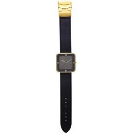 Horloge NeXtime Square Wrist zwart/goud
