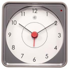 Alarmklok nXt Nathan 7.3 x 7.3 x 3.3 cm grijs