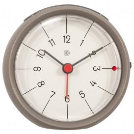 Alarmklok nXt Otto Ø 9,5 x 3.8 cm grijs