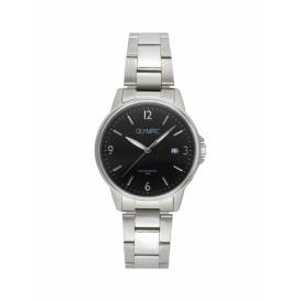 Olympic OL26HSS289 Detroit Horloge Staal Zilverkleurig 37mm Heren