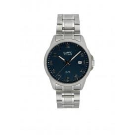 Olympic OL26HTT213 Ferrara Horloge Titanium Zilverkleurig 40mm Heren