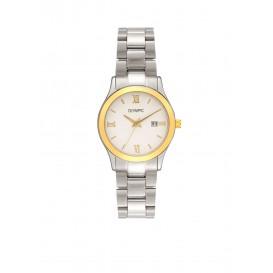 Olympic OL66DSS011B FORLI Horloge Staal Zilverkleurig 30mm Dames