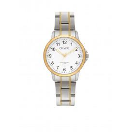 Olympic OL72DSS001B Baltimore Horloge Staal Zilverkleurig 29mm Dames