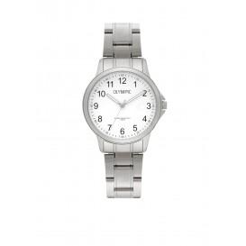 Olympic OL72DSS085 Baltimore Horloge Staal Zilverkleurig 29mm Dames
