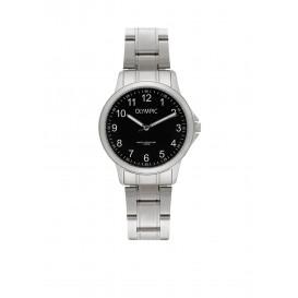 Olympic OL72DSS086 Baltimore Horloge Staal Zilverkleurig 29mm Dames