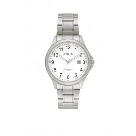 Olympic OL72HSS237 Baltimore Horloge Staal Zilverkleurig 40mm Heren