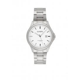Olympic OL72HSS239 Baltimore Horloge Staal Zilverkleurig 40mm Heren