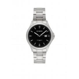 Olympic OL72HSS240 Baltimore Horloge Staal Zilverkleurig 40mm Heren