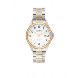 Olympic OL72HSS241B Baltimore Horloge Staal Zilverkleurig 40mm Heren