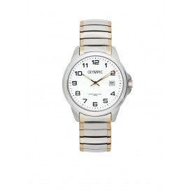 Olympic OL72HSS264B Phoenix Horloge Staal Zilverkleurig 38mm Heren