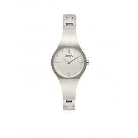 Olympic OL88DSS002 Roma Horloge Staal Zilverkleurig 26mm Dames