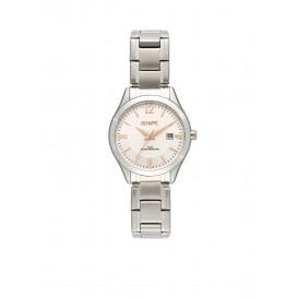 Olympic OL88DSS006 Prato Horloge Staal Zilverkleurig 29mm Dames