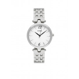 Olympic OL88DSS009 Sorrento Horloge Staal Zilverkleurig 32mm Dames