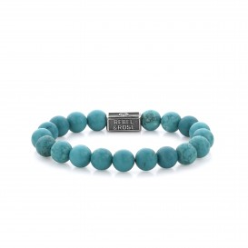 Rebel and Rose RR-8S001-S-L Armband Turquoise Delight 925 - 8mm L 8mm 19.0